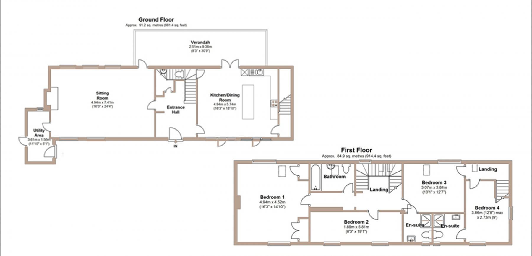 The coach house new forest escapes for Coach house floor plans