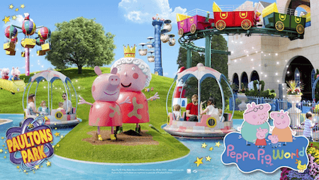 Peppa Pig And Paultons Theme Park Our Visiting Tips And Guide New Forest Escapes